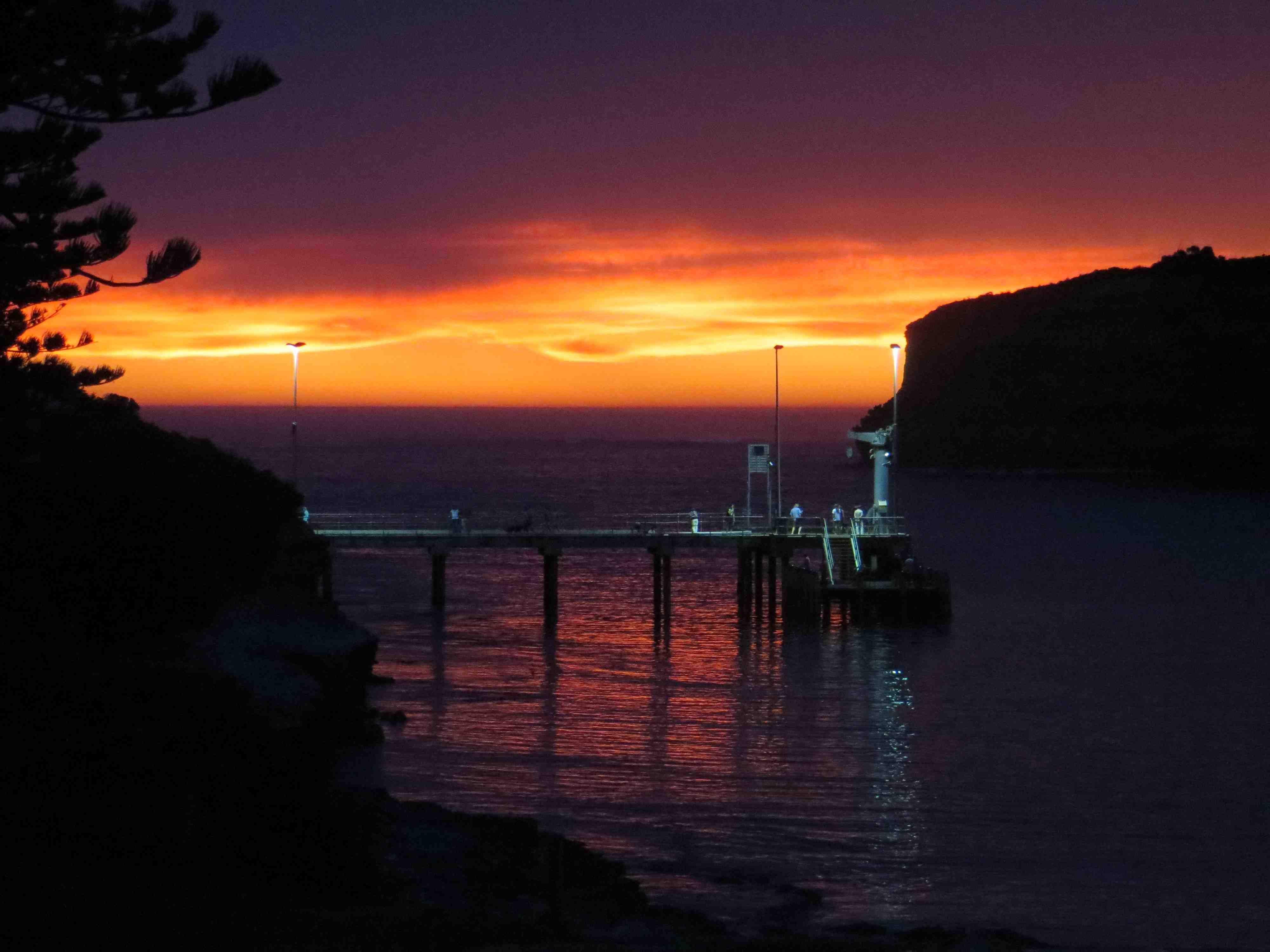GOR- Sunset – last night | joesworldwatertour
