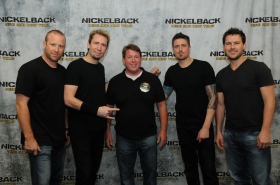 Nickelback Melbourne 11-27-2012 - Thanks Reedo!!