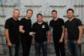 Nickelback Melbourne 11-27-2012 - Thanks Reedo!!