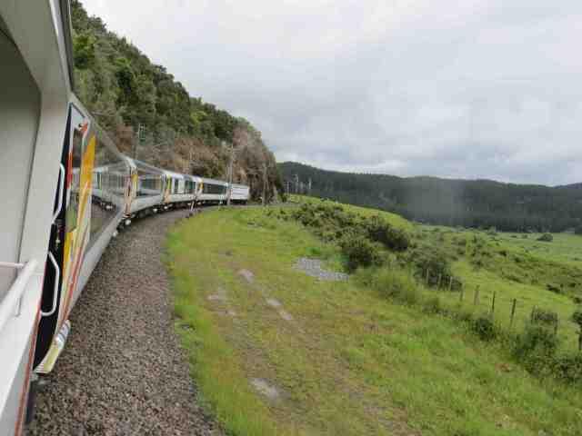 The Northern Explorer KiwiTrain tour through the North Island